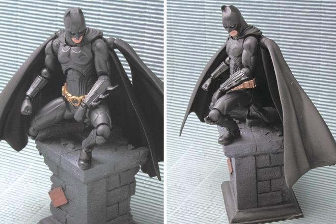 ディスプレイベース&バットマン