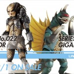 SERIES No.022 PREDATOR SERIES No.023 GIGAN 2011.2/1 ON SALE LINEUPページ追加!!