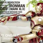 特撮リボルテック SERIES No.049 IRONMAN MARK42 アイアンマンマーク42 2014年1月1日発売!2013年10月1日予約開始 ¥4500(税込)